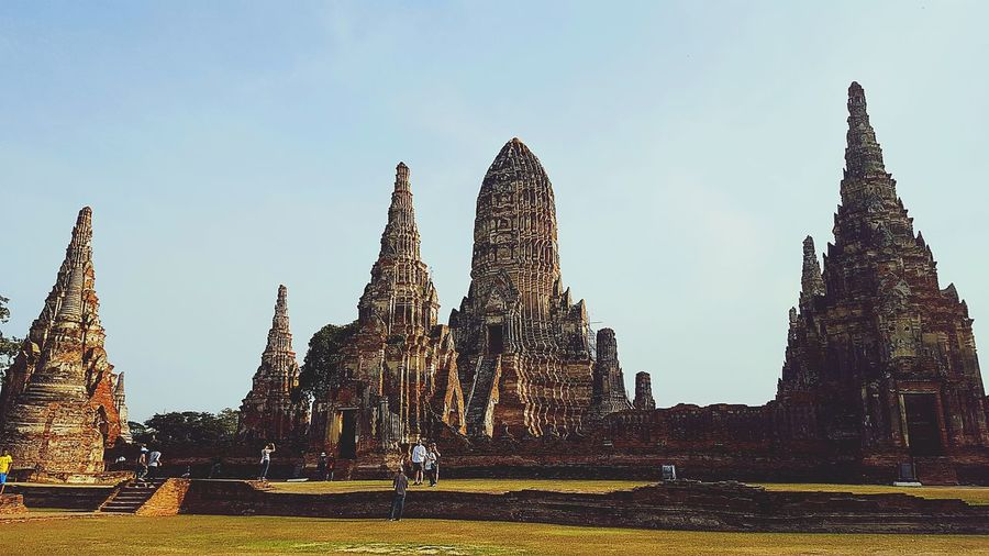 Ayutthaya,Thailand. Old Capital Classic City Long History Here My Country My People Temple Architecture Temple Thailand Outdoors The Great Outdoors - 2017 EyeEm Awards
