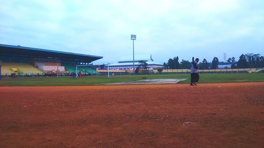 Baseball - Sport Baseball Diamond Sport Playing Field Travel Destinations Sand People Sky Large Group Of People Match - Sport Outdoors Day Adult Adults Only XperiaM2 Teguhpandrian