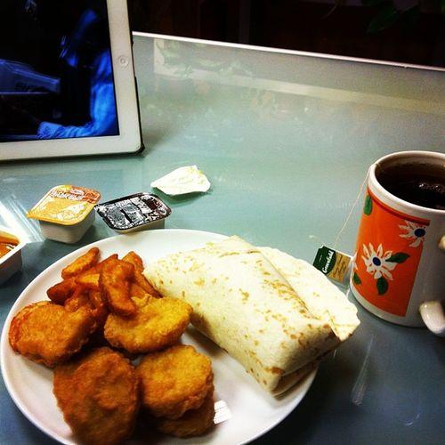 Mcdonalds Eat Fat Launch Me Work Tea 😄🌷🌞☕️ Ipad Film Happy
