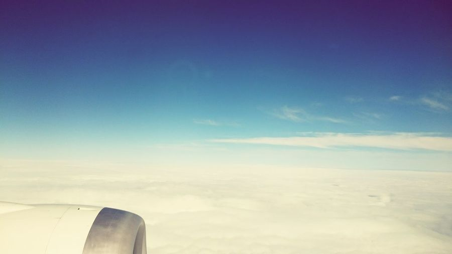 Taking Photos Relaxing Hello World Enjoying The View Beautiful Day InTheSky Sky And Clouds On The Plane