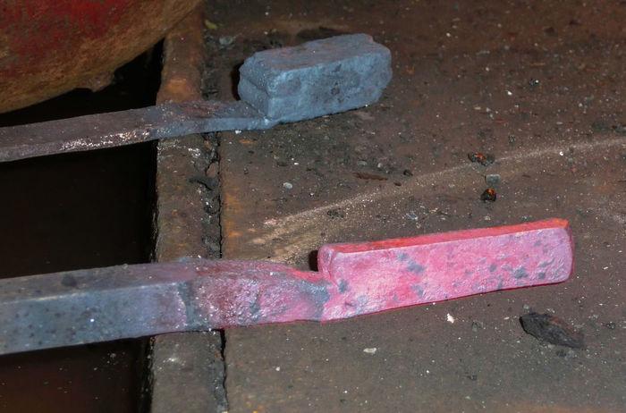 Blacksmith  Close-up Damaszener Stahl Forge  Forger Forging Glowing Glühen Hammer Handwerk Metal Metall Schmiede Schmiedekunst Schmieden Werkstatt Werkzeug Working Hard The Color Of Business