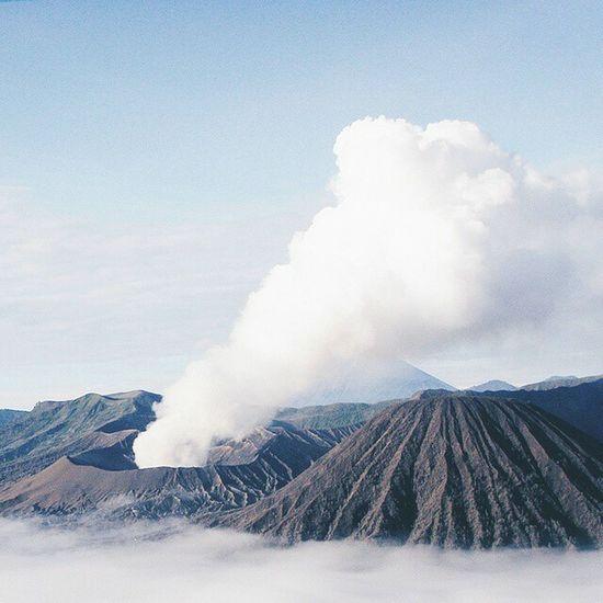 Volcano Mountain View INDONESIA Visitindonesia Wonderful Indonesia EyeEm Nature Lover