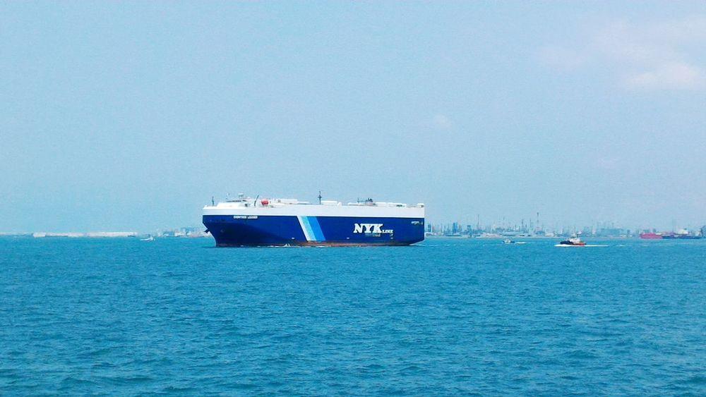 Seaman's view Seamanlife Transportation Nautical Vessel Water Marino Eyeem Philippines Helloeyeempeople Singapore