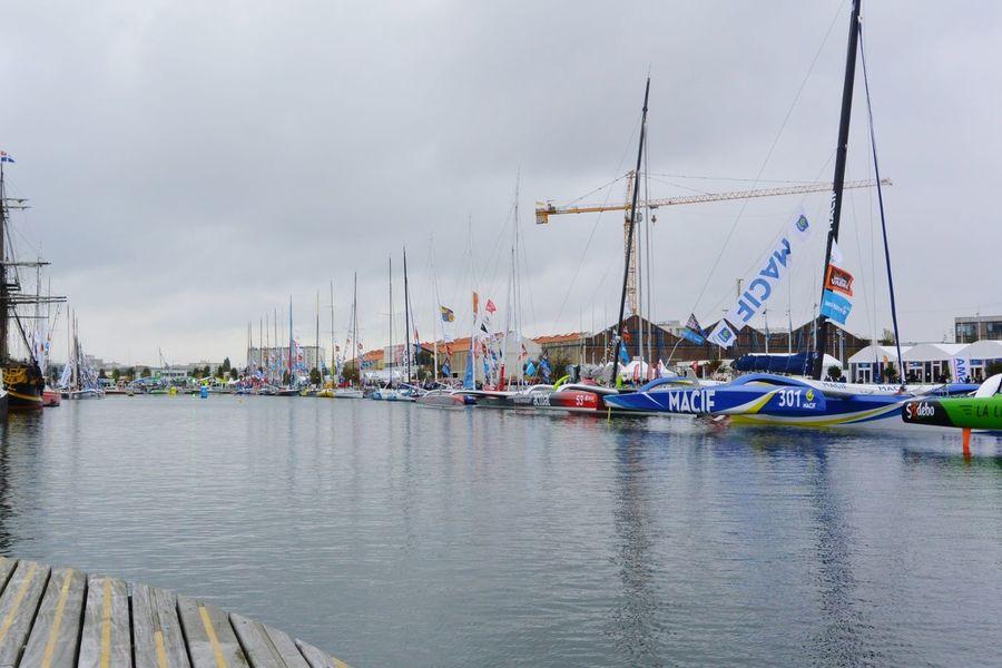 Avant le départ pour Itajaí au Brésil Jacques Vabre Transat Sailing Ship Sailing Race Le Havre