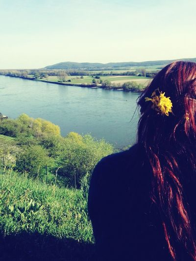 Devin Castle Nature Springtime That's Me and My Hair :3