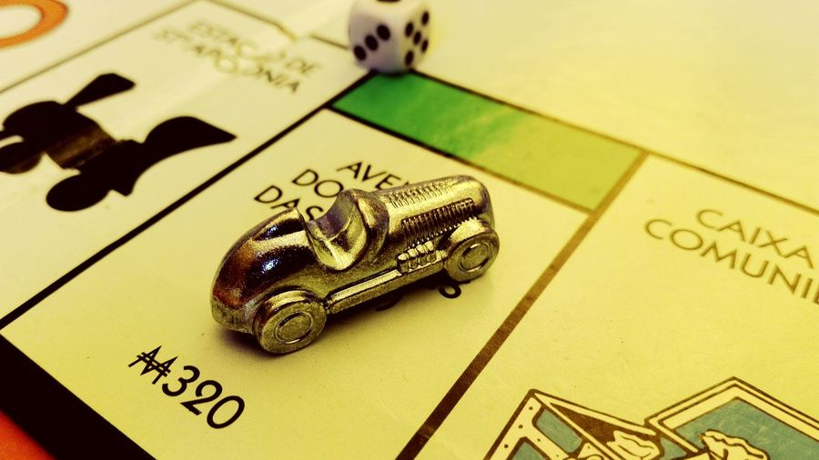 Roll the dices and rule the board Monopoly Board Games Dices