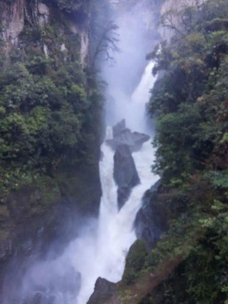 Cascada Pailon del Diablo First Eyeem Photo