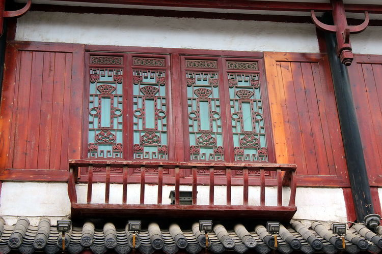 Ancient Architecture_collection Building Exterior Buildings Design Heritage Heritage Site Heritagesite HeritageVillage Monumental Buildings Things I Like Window Designs Windows Scenic China Oriental China,Guizhou Handicraft Wood Carving Colourful
