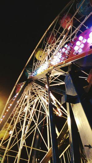 Weeeee! Carnival Ferris Wheel Lights Wee Fun Kidatheart Eyeinthesky HTCOneM9 Florida Summer2015