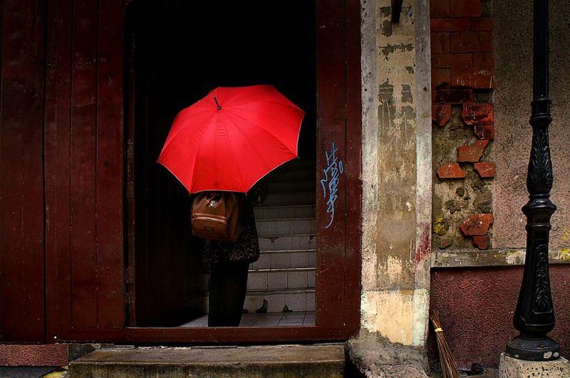 Intramuros, Manila Eyeem Philippines Streetphotography Streetphoto_color Streetphotographer Everybodystreet Streetstyle Red Urban Photography Umbrella Intramuros,manila Showcase: January