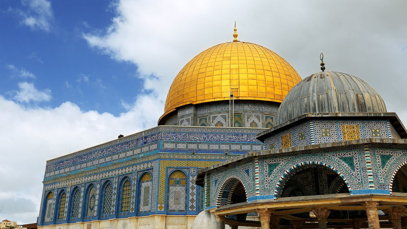 Architecture Building Exterior Built Structure Day Dome Dome Of The Rock Dome Of The Rock Jerusalem Low Angle View No People Outdoors Place Of Worship Religion Sky Spirituality Travel Destinations An Eye For Travel The Architect - 2018 EyeEm Awards