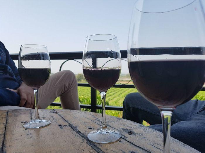 SulaVineyards Wineglass Havinggoodtime