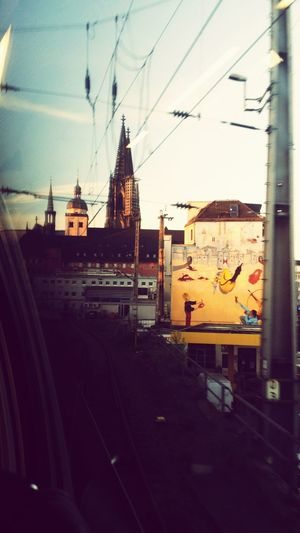Art Cologne Outofthetrain Hatethistown Good_morning Public Transportation Into The Train Hello World Taking Photos