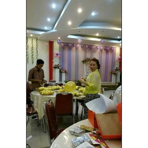 Preparation for client birthday party Latepost Sweetseventeenbirthdayparty