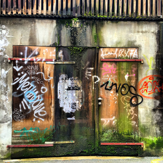 Swiss Graffiti Architecture Break The Mold Built Structure Close-up Communication Day Graffiti Metal No People Outdoors Text Words