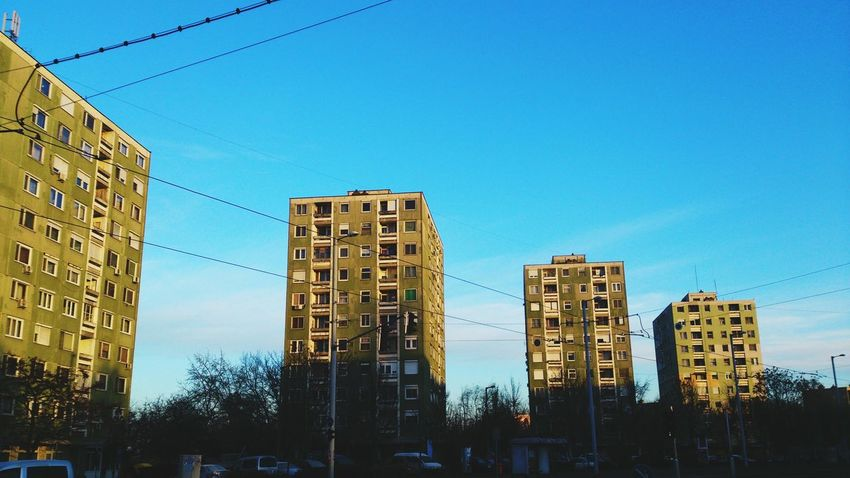 Sunrise in Szeged . Morning Morning Walk Morning Light Block Of Flats Flats Szegedcity Szegedforever♥ Szegedi Hungary Szeged Eyeem Szeged Life In Szeged