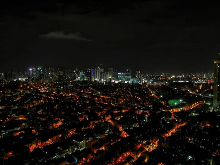 Makati City at night. Makati Topview Roofdeck Urban Outdoor Huaweip20lite Mobilephotography Huaweimobileph City Cityscape Urban Skyline Illuminated Skyscraper Modern City Life Sky Architecture Building Exterior Aerial View