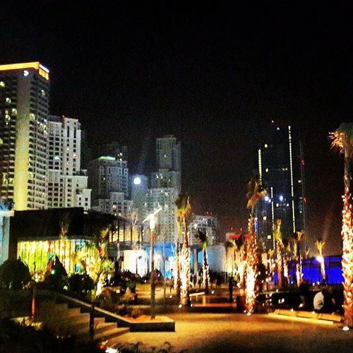 Dubai UAE Travel Holiday Jbr The_walk_JBR Beach Sea Life Lifestyle Jumeirah_beach Lights Night