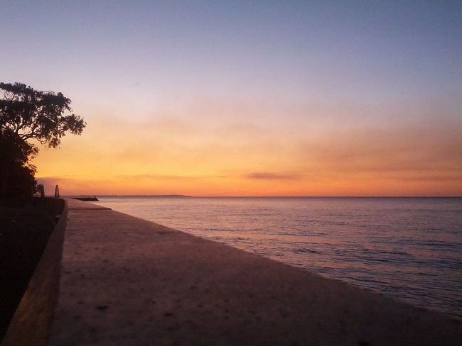 Taking A Walk Sunset_collection The Purist (no Edit, No Filter) Hervey Bay