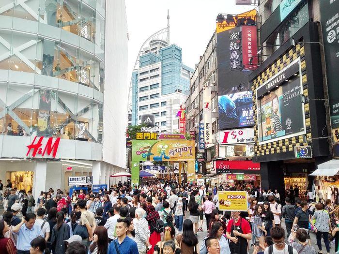 Taiwan Taipei City Taipei,Taiwan Ximen Ximending Ximen Station Nightmarket 西門町 西門 夜市 夜市美食 六號出口 美食城 街頭藝人 娛樂 Snapseed Snapseed Editing  Blackberry Blackberrypriv