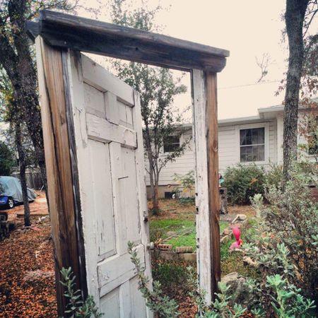this way Doorway Urban Gardent