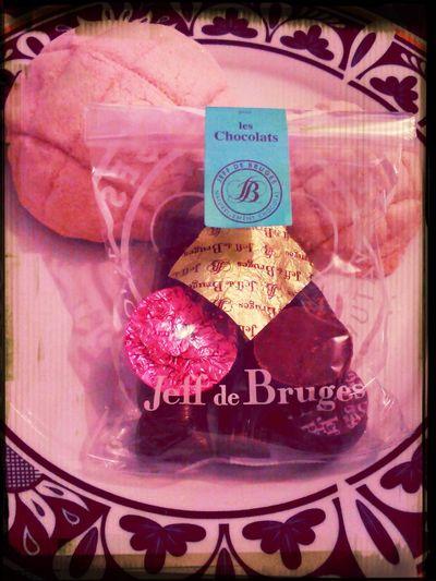 Hello World Chocolates Pan Dulce Chocolat First Eyeem Photo