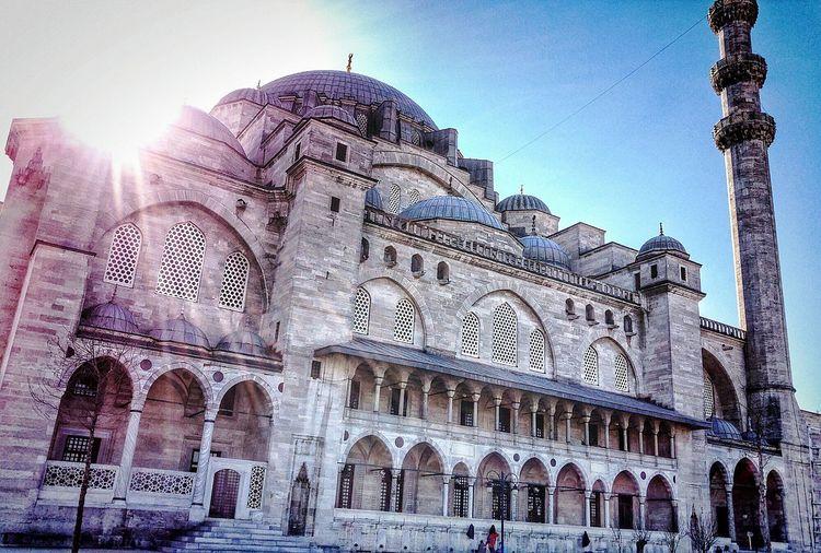 Suleymaniye Suleymaniyemosque Turkey Mosque