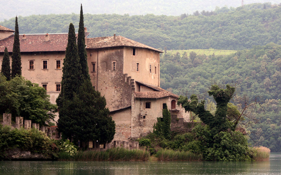 Ancient Civilization Architecture Building Building Exterior Built Structure Castel Castell Castello Church Culture Exterior Historic History Horizontal Symmetry House Italy Lago Toblino Old Outdoors Place Of Worship Religion Residential Structure Ruined Toblino Town