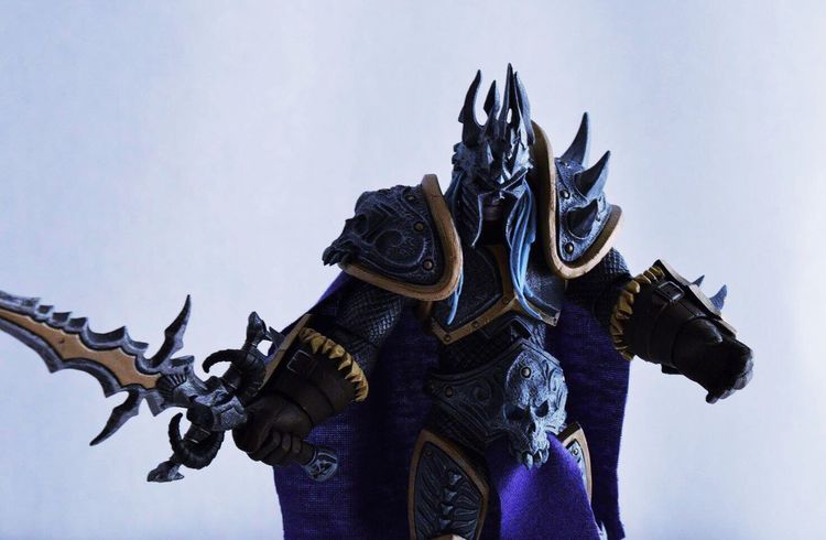 Arthas! The Lich King! Worldofwarcraft Warcraft Blizzard Toyphotography Action Figures Bigbadtoystore Neca Action Figures