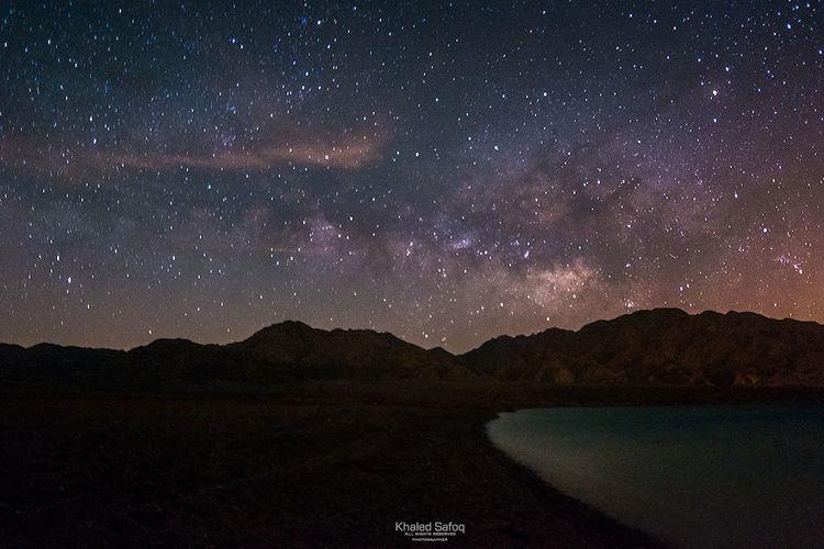 ايضاً من تصويري في محافظة حقل ، تصوير للنجوم ومجرة درب التبانه .. اتمنى تنال اعجابكم Landscape Nikon Nikon D800 تصويري