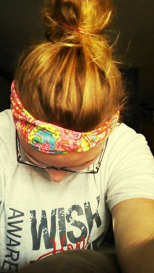 Headband Bun Hair Hairstyle