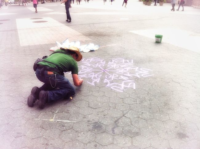 Streetphotography Men Drawing - Art Product Drawn Drawing Chalk Drawing Drawing - Activity