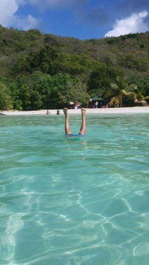 ...happy birthday on the beach...2/6 Hi! Life Is A Beach Enjoying The Sun Isla Culebra , Puerto Rico
