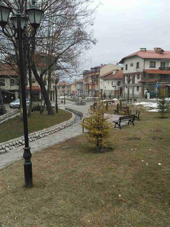 Bansko. Bolgaria City Fevrier 2017