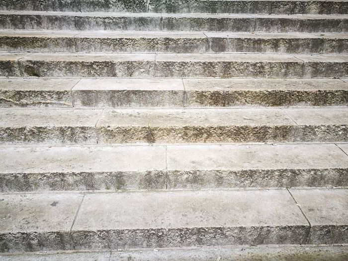 Steps And Staircases Full Frame No People Close-up Outdoors Day Stone Cream Lines And Shapes