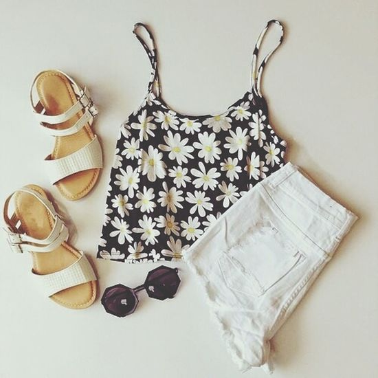 Summer (^o^) Outfits ♡ Street Fashion Streetstyle SWAG ♥