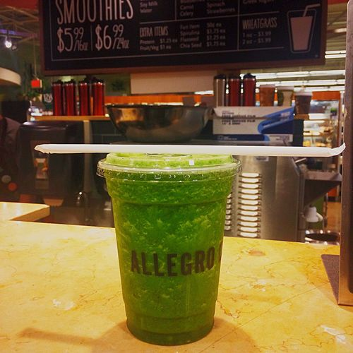 Whole Foods Green Smoothie Vegan Vegetarian Paleo Detox Allegro Greens Healthy Food Healthy Lifestyle