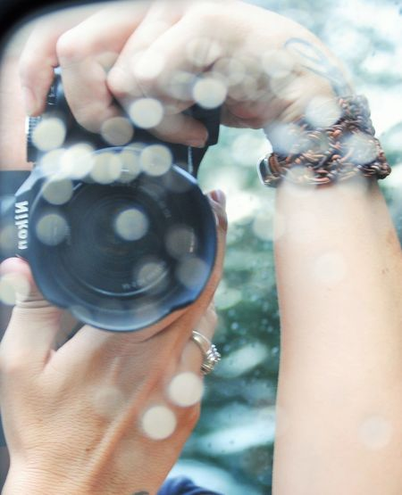 Camera Camera In The Rain Hands Hands At Play Hands At Work Hands Holding Camera Photographer Photographers Portrait Self Portrait