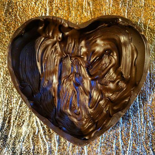 Chocolate Chocolate♡ Heart ❤ Chocolate Heart Tasty Nom Nom Nom Interesting Pieces Taking Pictures Taking Photos Enjoying Life Gifts ❤ Love