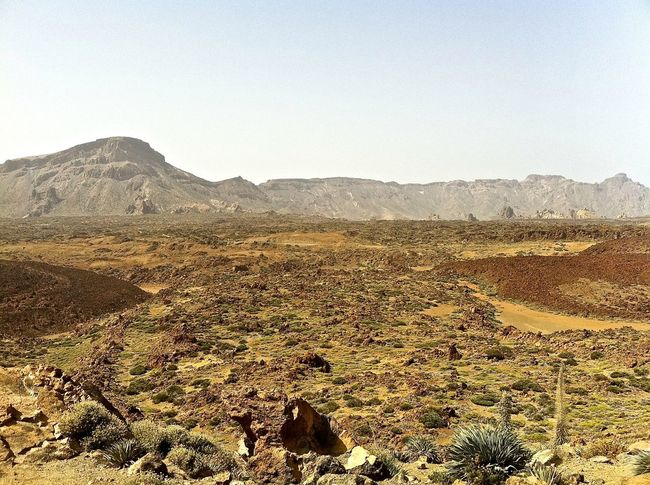 Arid Climate Canary Islands Day Fog Geology Hiking Hill Landscape Mountain Mountain Range Nature Non-urban Scene Outdoors Physical Geography Remote Rough Teide National Park Tenerife Tranquil Scene Tranquility