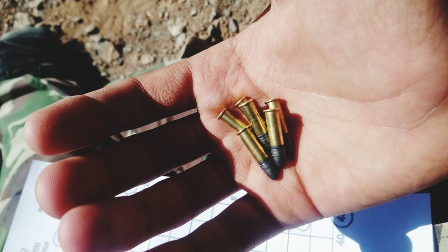 Military School Guns Bullets