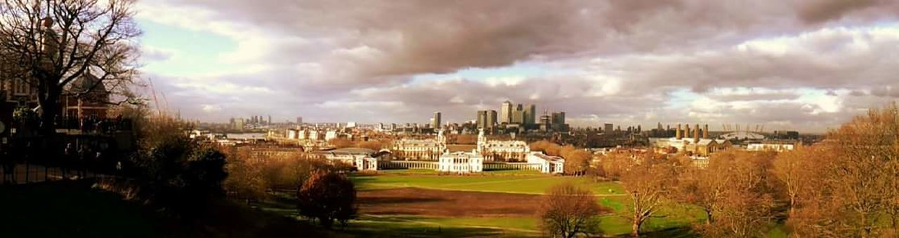 University Outdoors Beauty In Nature Travel Destinations Architecture Greenwich University Tree Nature Panoramic