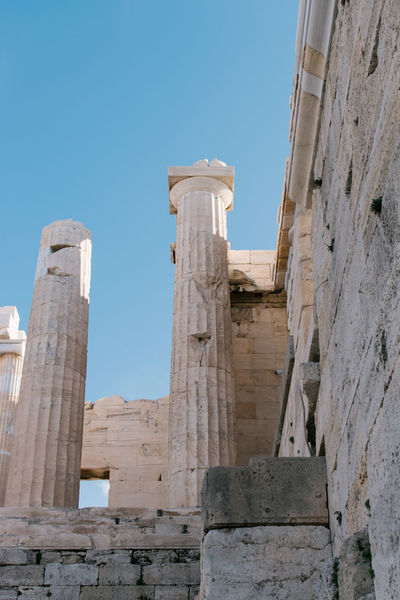 Acropolis Ancient Civilization Ancient History Archaeology Architectural Column Architecture Athens Athens, Greece Building Exterior City Day Greece History No People Old Ruin Outdoors Sky Travel Travel Travel Destinations Travel Photography