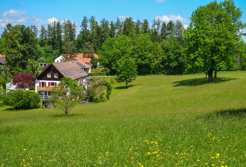 Alpine Architecture Bad Tölz Bavaria Chalet Day Germany Grass Nature Outdoors Sky Sunlight Tree Investing In Quality Of Life