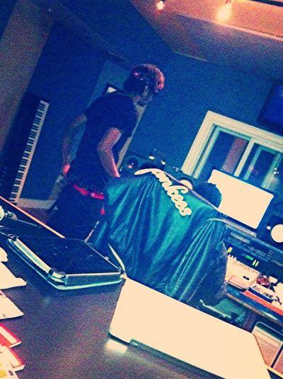 In the lab. #HippyMob x #FilthyIconz