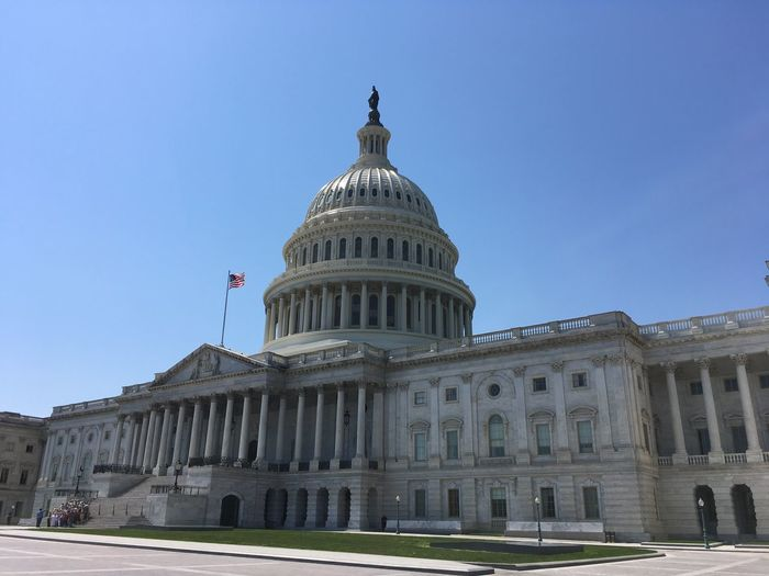 US Capitol (04/2018) Washington, D. C. US Capitol Building Building Exterior Built Structure Architecture Dome Sky Travel Destinations Clear Sky