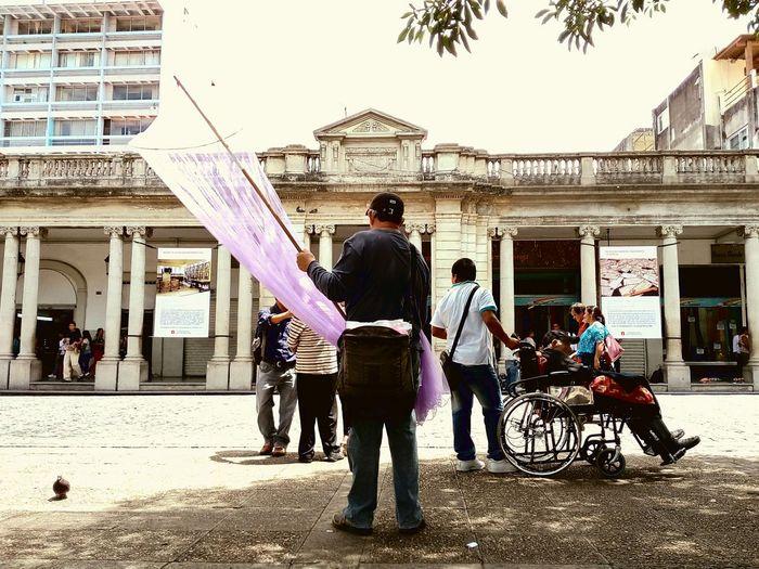Vendedor, vida diaria, centro historico, zika