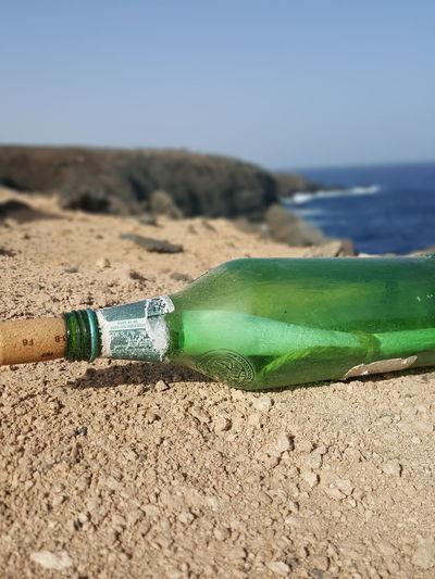 Bottle Green Bottle Bottle Post Bottle Post And Beach Post Post At Beach Beach Beach Photography