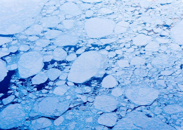 Huge Ice Floes