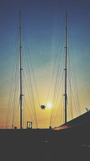 The Sling Shot Young & Reckless Fair Slingshot Sunset Silhouettes